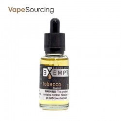 EXEMPT Nic Salt Tobacco Barrel 30ml