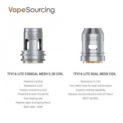 [Pre-order] Smok TFV16 Lite Replacement Coils (3pcs/pack)
