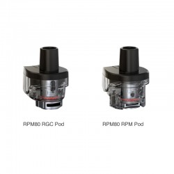 SMOK RPM80 Replacement Empty Pod Cartridge 5ml (3pcs/pack)