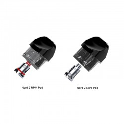 [Pre-order] SMOK Nord 2 Replacement Empty Pod Cartridge 4.5ml (3pcs/pack)