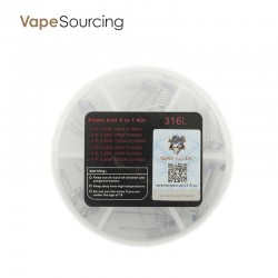 LTQ Vapor Demon Killer SS316 6 in 1 Flame Coil