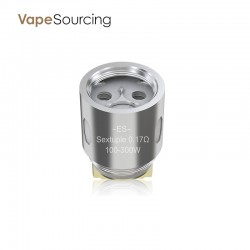 Eleaf ES Sextuple-0.17ohm Head(5pcs)- Fit for MELO 300 Sub Ohm Tank