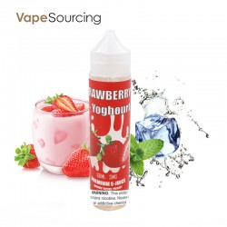 Marrow Vapors Strawberry Yoghourt E-Juice 60ml