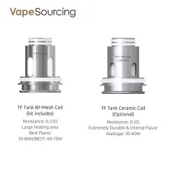 SMOK TF Tank Replacement Coil Head (3pcs/pack)