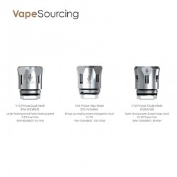 SMOK TFV12 PRINCE Replacement Mesh Coil Head (3pcs/Pack)