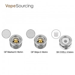 Vaporesso QF Coil Head For SKRR Tanks (3pcs/pack)