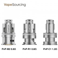 VOOPOO PNP Coil Head for Vinci & Drag Baby Trio Kit (5pcs/pack)