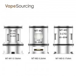 VOOPOO MT Coil Head (3pcs/pack)