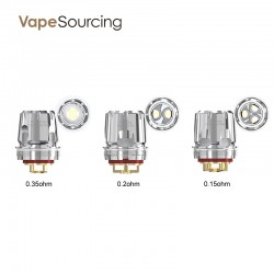 Wismec WT Coils Head for Trough Tank (5pcs/pack)