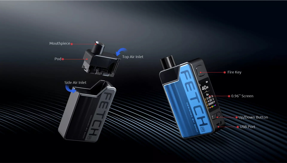 SMOK Fetch Mini Kit Function Indication