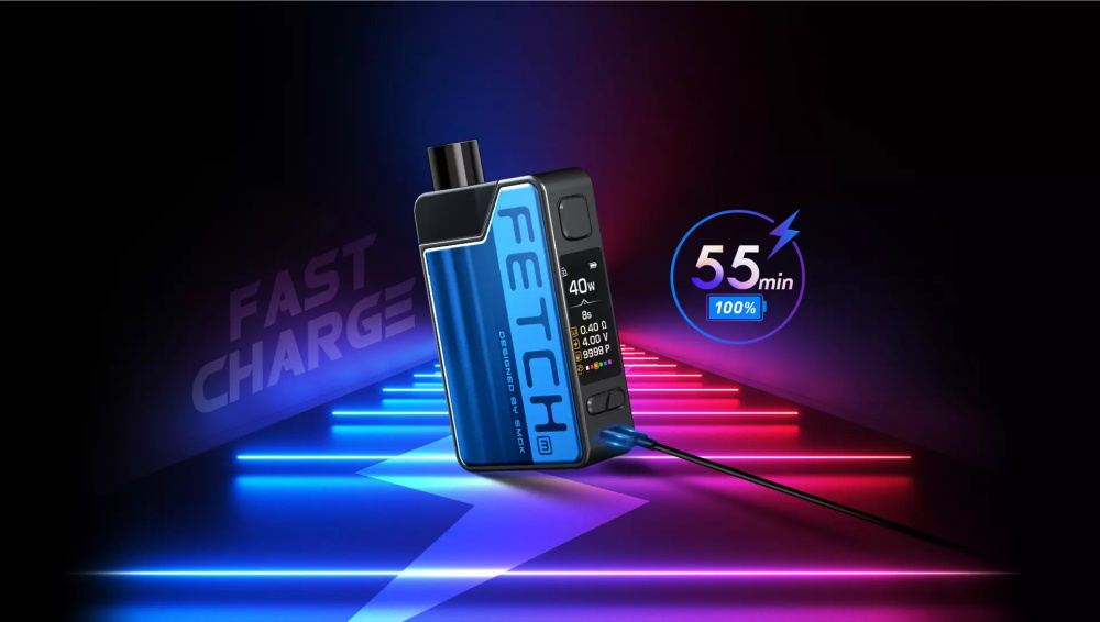 SMOK Fetch Mini Kit 55min full of 100 electricity