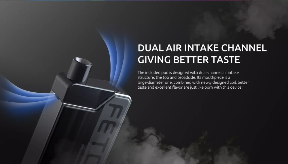 SMOK Fetch Mini Kit Dual Air Intake Channel Giving Better Taste