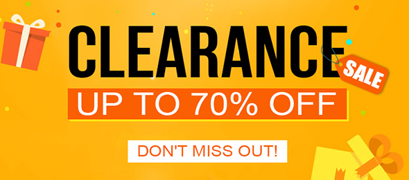 Clearance Sale Up To 70% OFF
