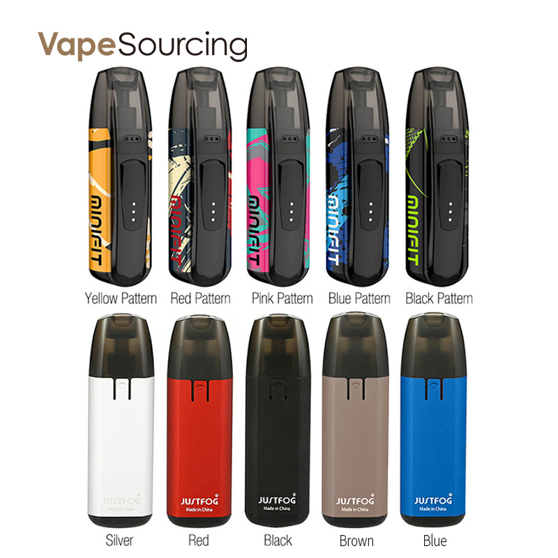 JUSTFOG MINIFIT Pod System Kit All Colors