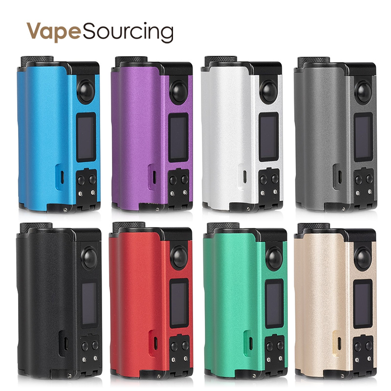 Dovpo Topside Dual Squonker Box Mod review