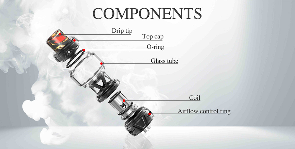Horizon Falcon 2 Sub Ohm Tank Components