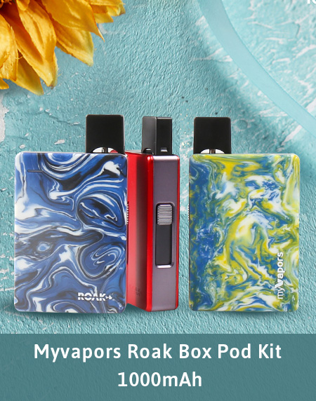Myvapors Roak Box Pod Kit 1000mAh