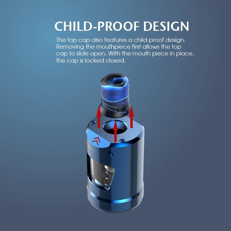 Innokin Zlide Tank Child proof design