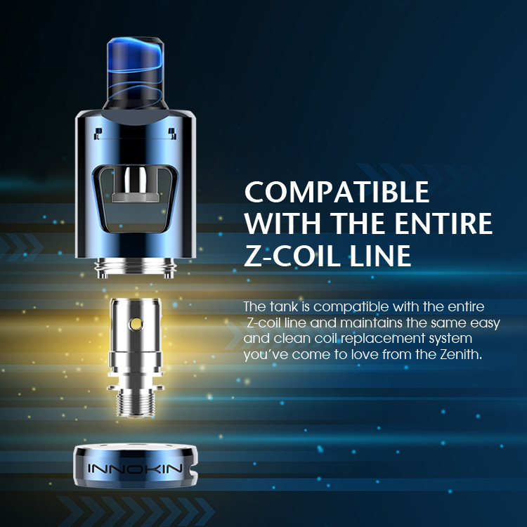 Innokin Zlide Tank Compatible with Z coil