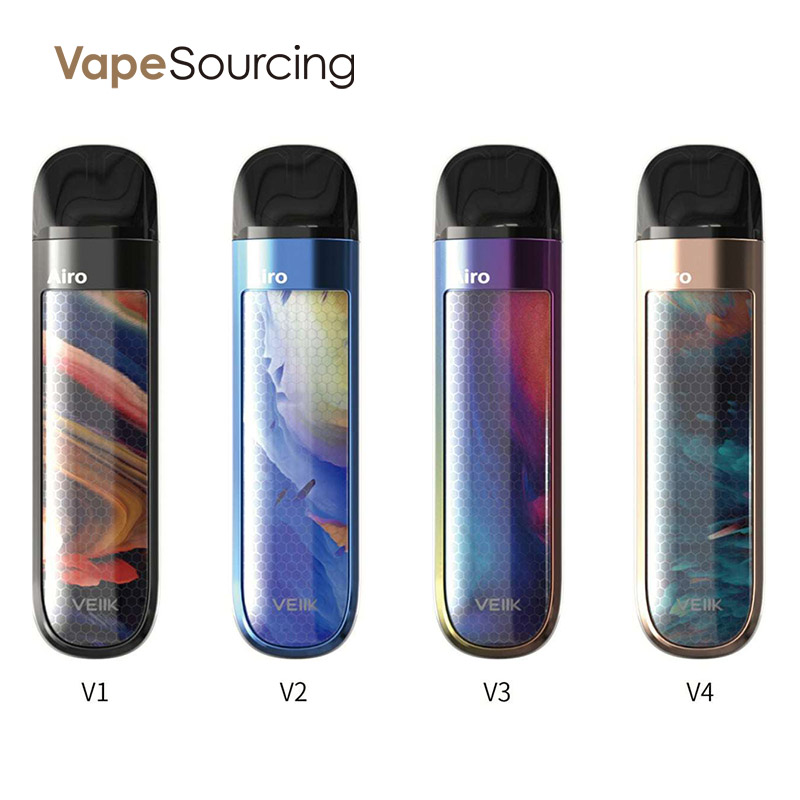 VEIIK AIRO 3D glass Limited version pod kit Colors