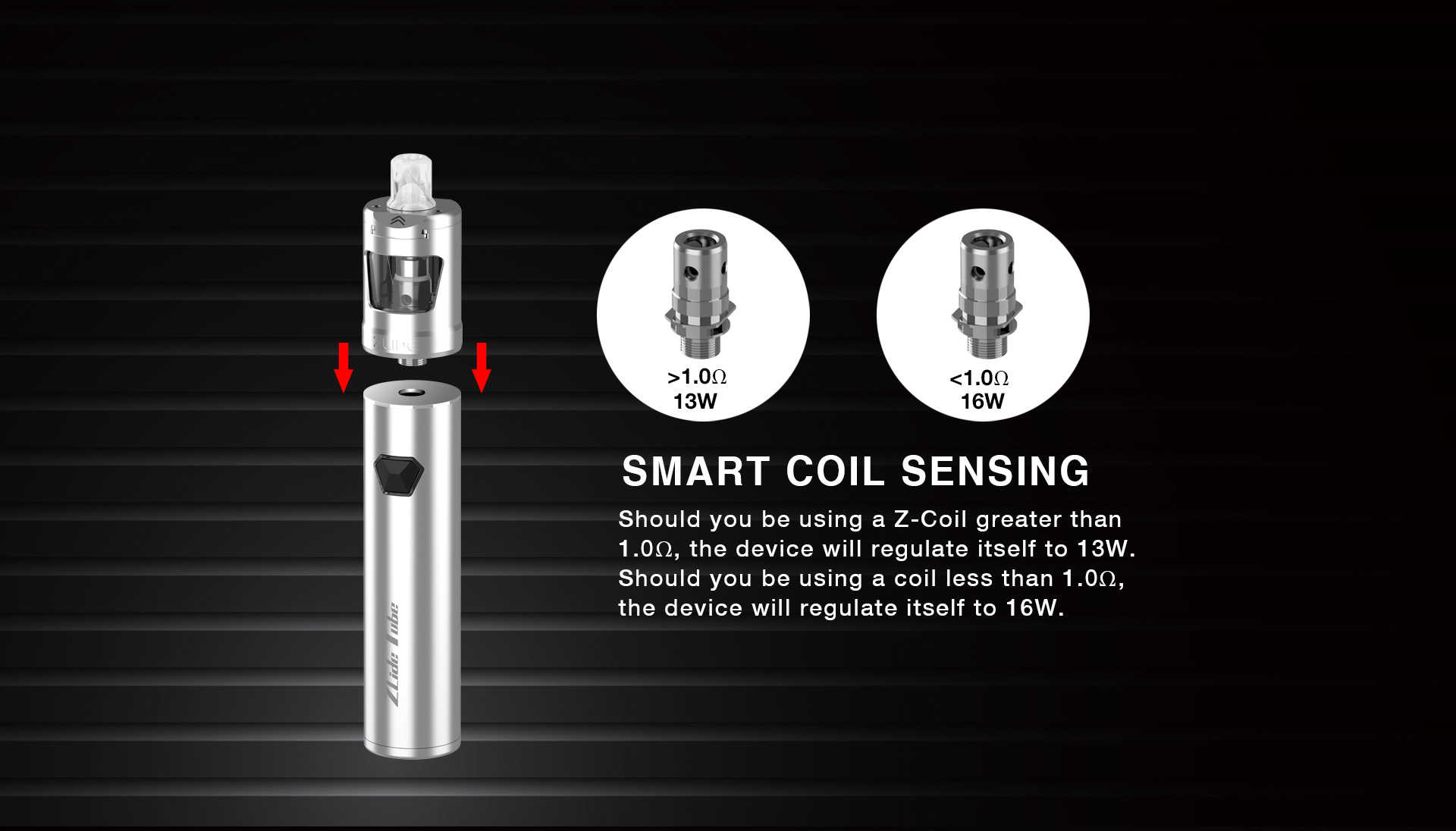 zlide tube kit smart coil sensing