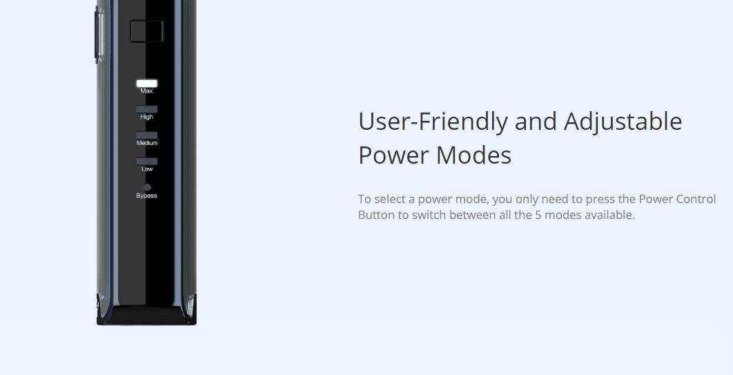 Eleaf iStick Amnis 2 Kit Adjustable Power Modes