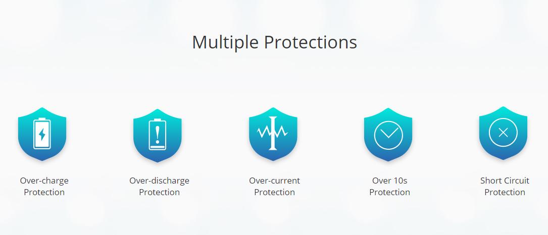 Eleaf iStick Amnis 2 Kit Multiple Protections