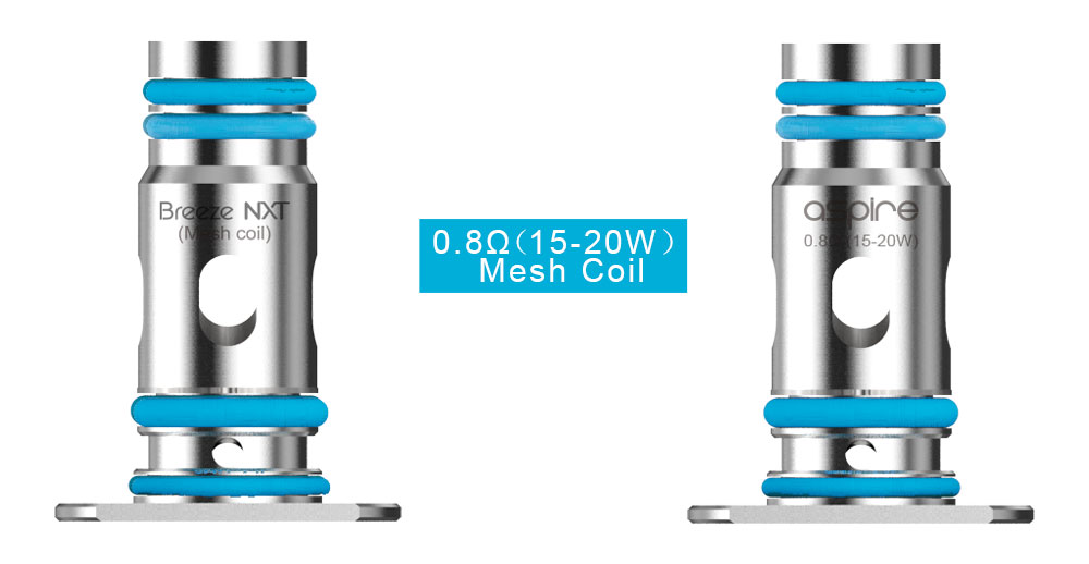 The Breeze NXT mesh coil