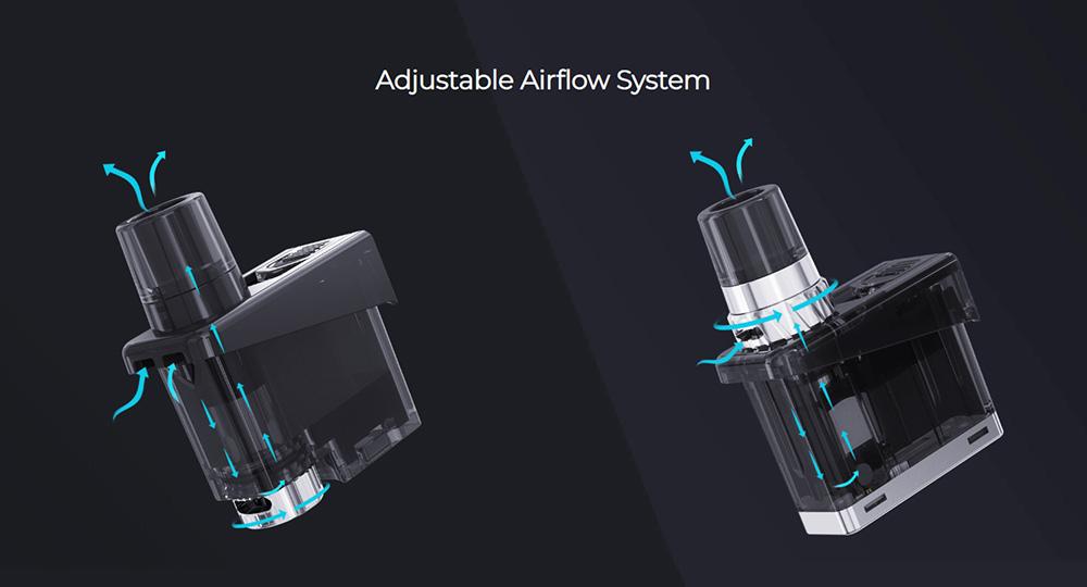Wismec Preva pod kit airflow system