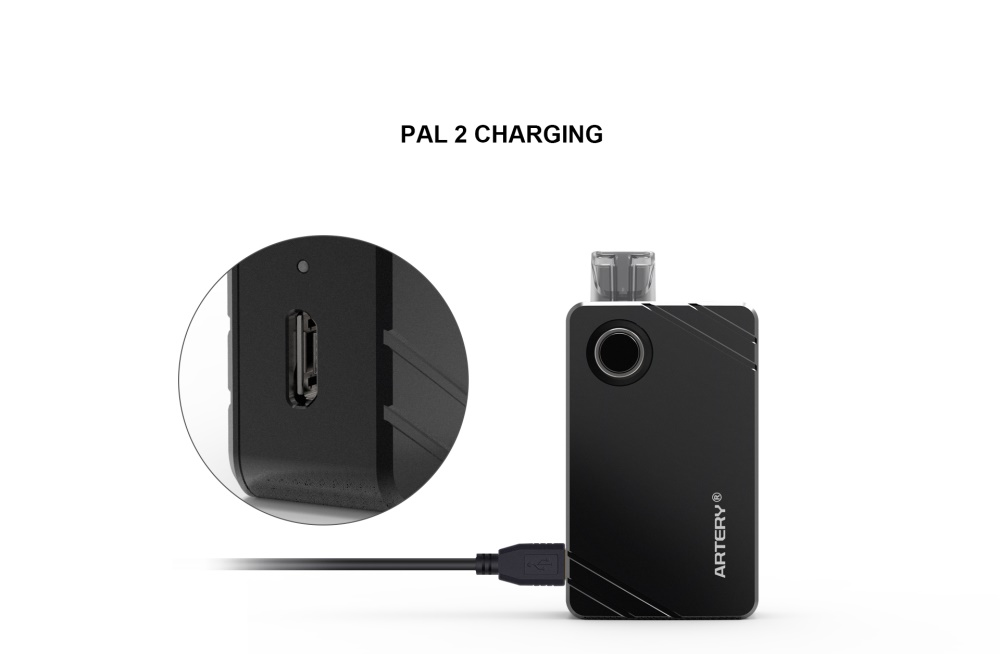 artery pal 2 kit 1000mah pod kit charging