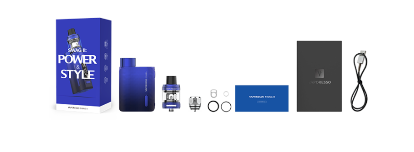 Vaporesso Swag 2 Kit Includes