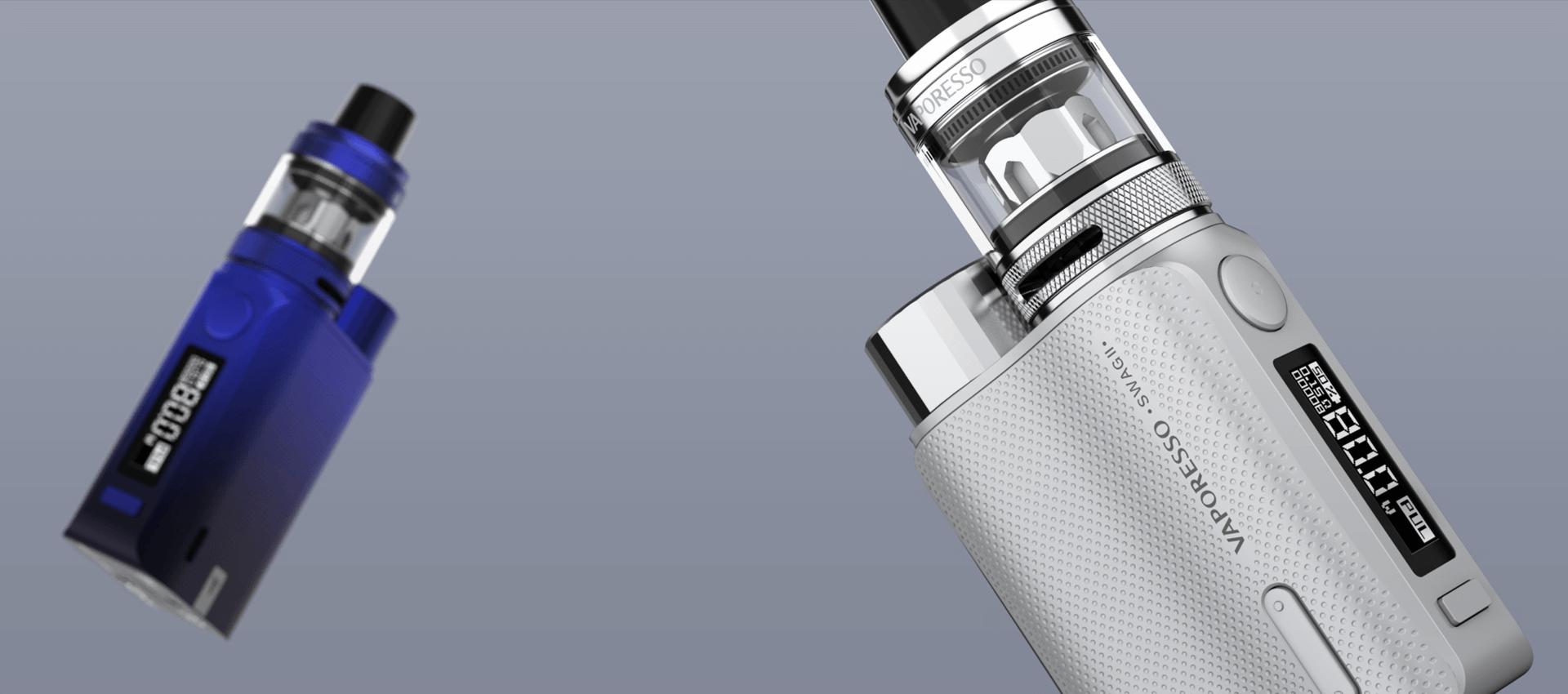 Vaporesso Swag 2 Kit ergonomic