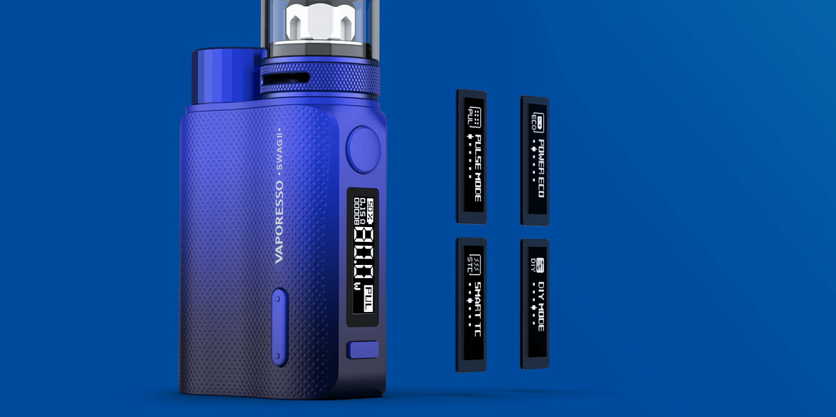 Vaporesso swag 2 AXON Chip User Friendly