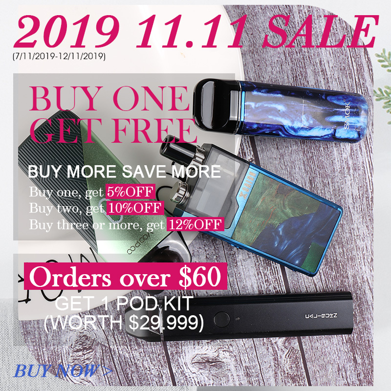 Vapesourcing Double 11 China 2019 Vape Sale: Buy More Save More