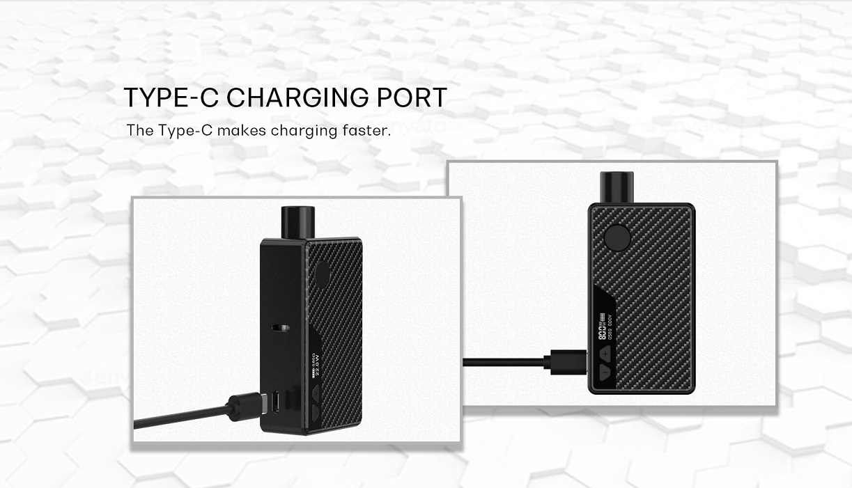 Rincoe Manto AIO Kit type c charging port