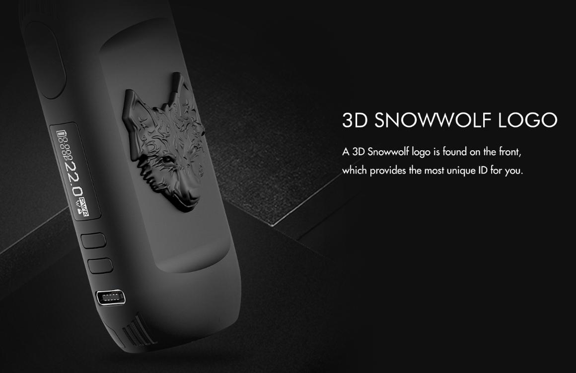 Snowwolf Kfeng Kit 80W 3D snowwolf logo
