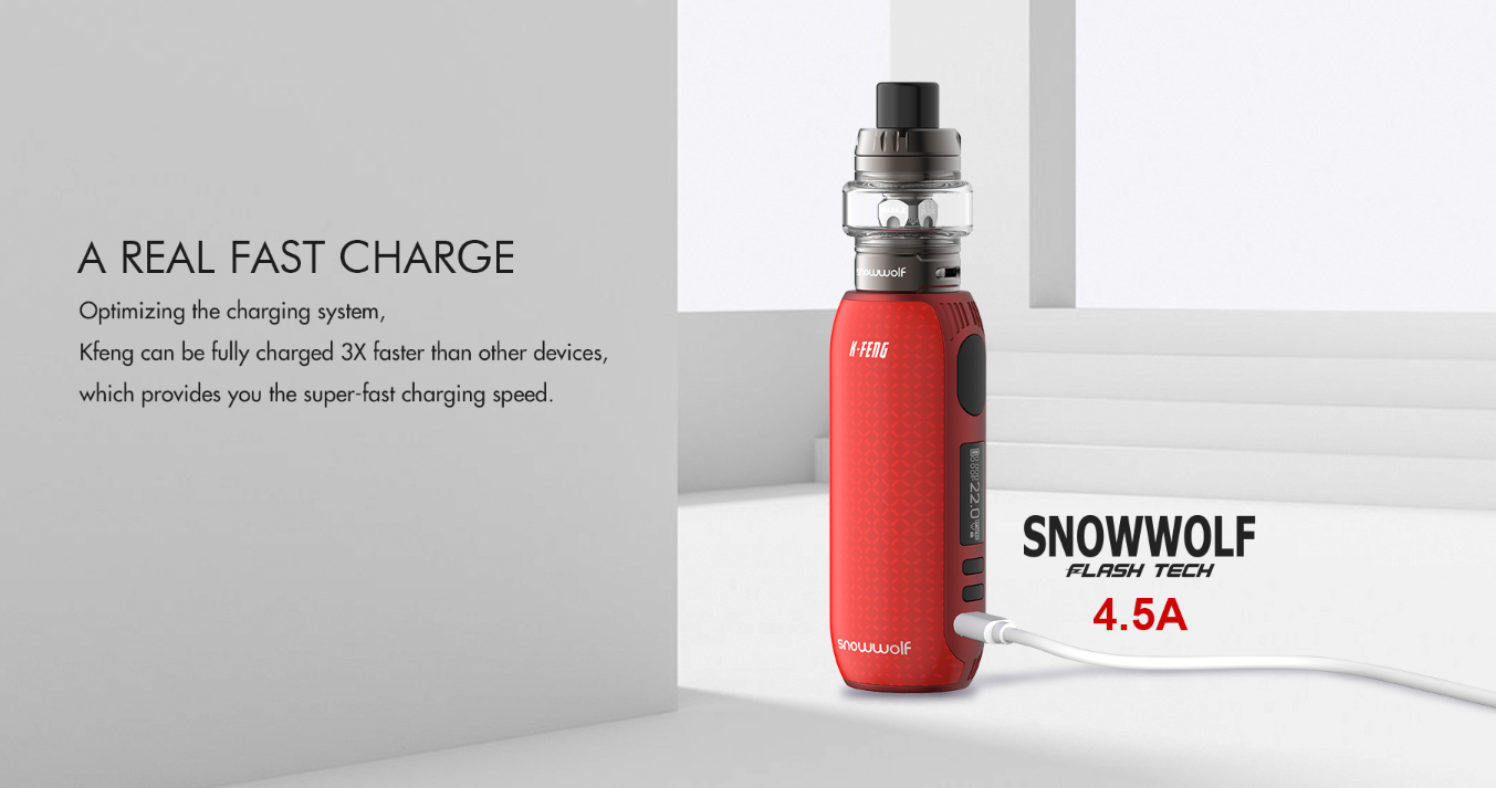 Snowwolf Kfeng Kit 80W 4.5A fast charging