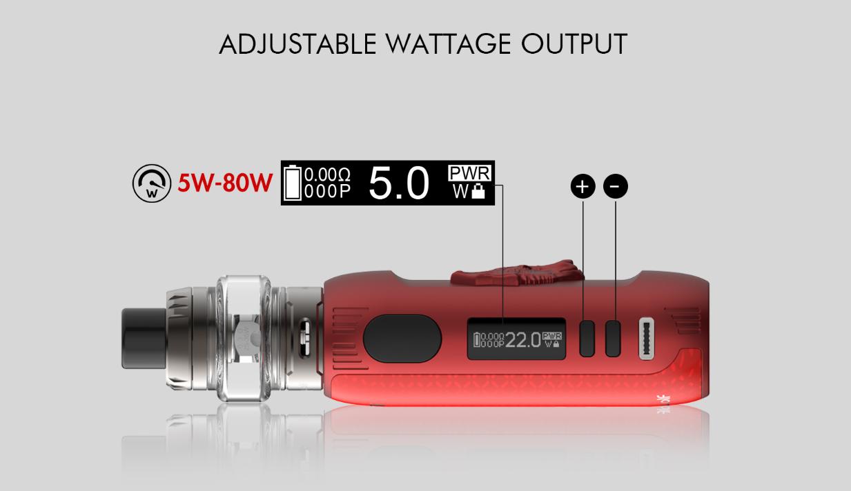 Snowwolf Kfeng Kit 80W adjustable wattage output