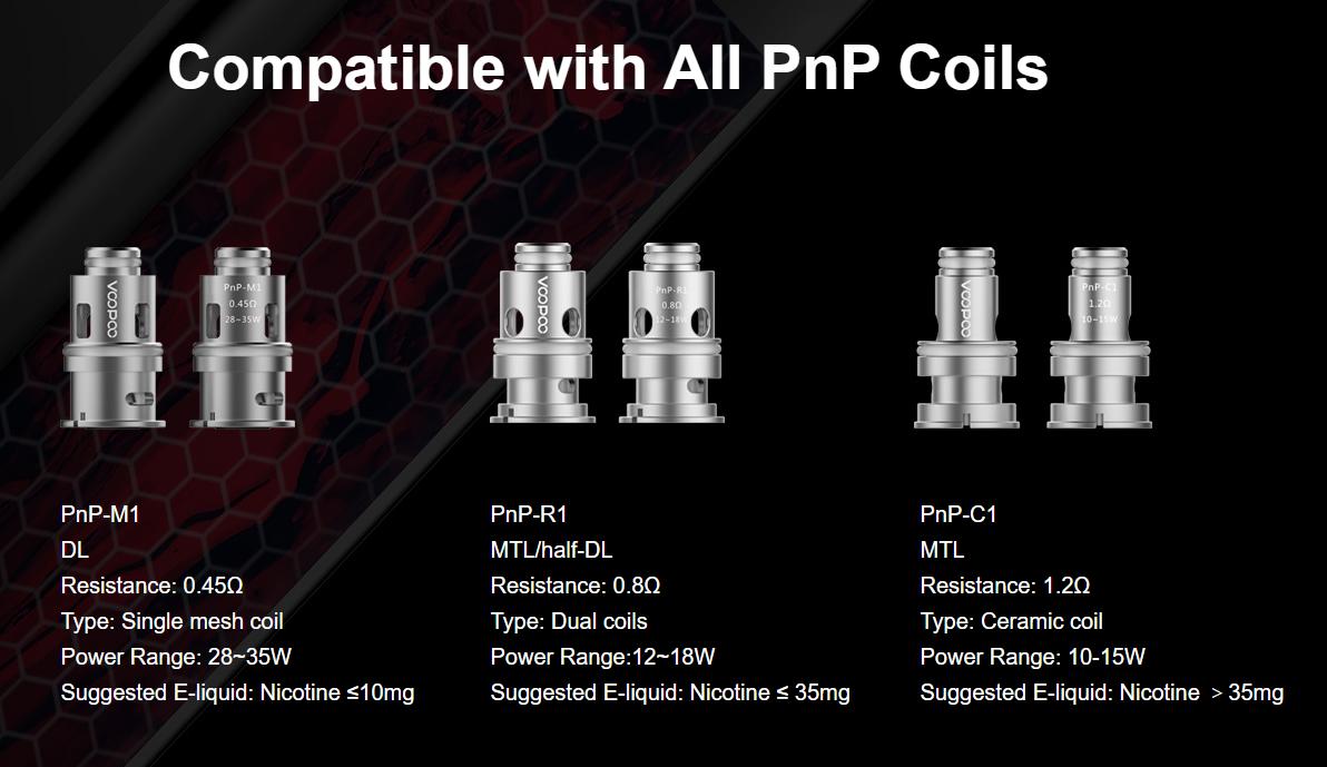 VOOPOO VINCI X Mod Pod Kit Compatible with All PnP Coils