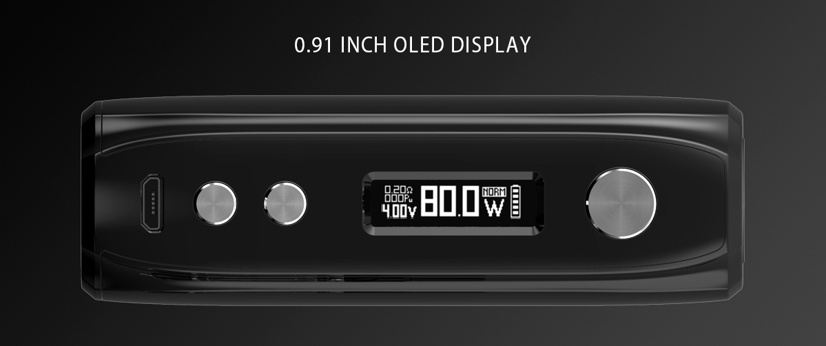 IJOY Katana Box Mod 0.91 inch OLED Display