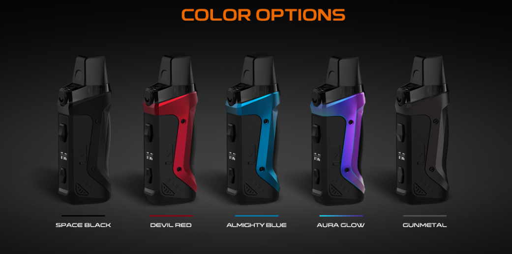 Aegis Boost Pod Mod Kit color options