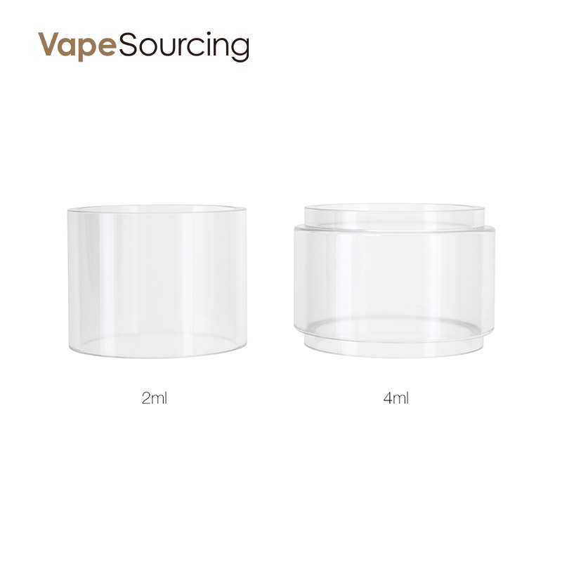 Hellvape MD RTA Replacement Glass Tube two capacity