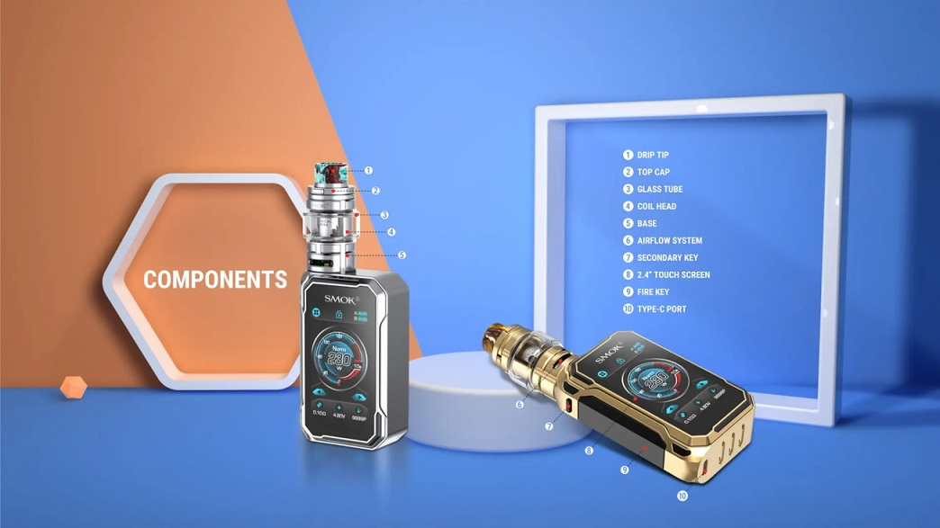 Smok G Priv 3 Kit Components