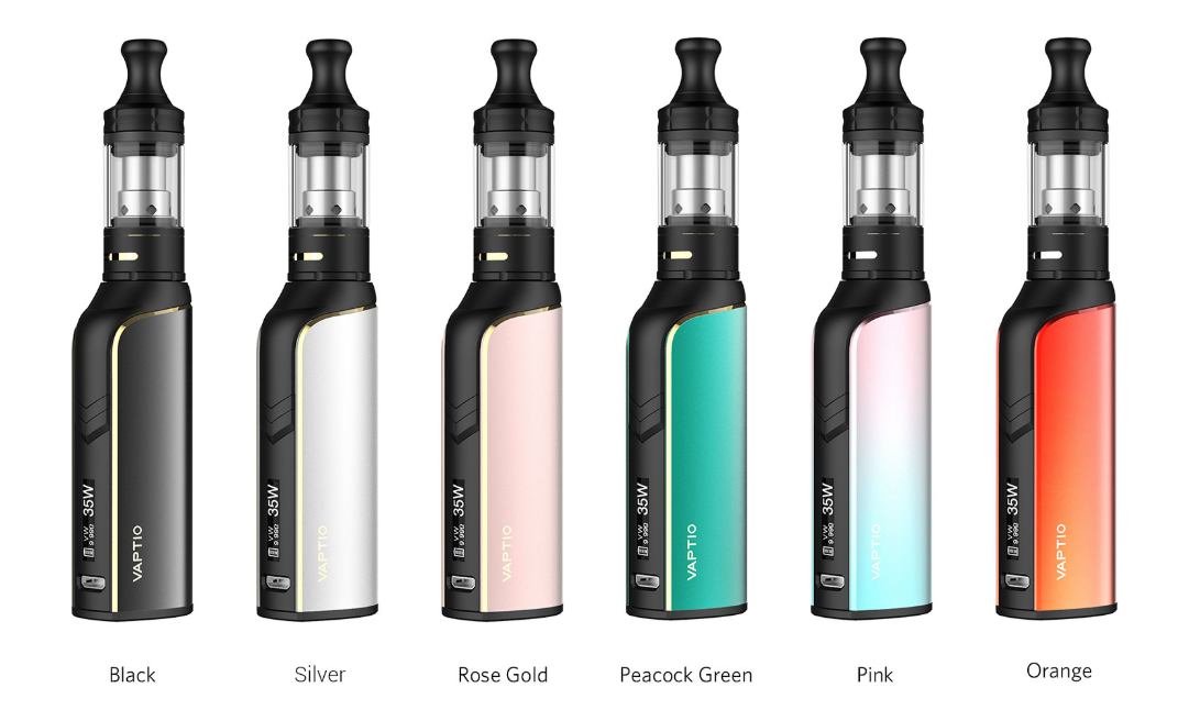 Vaptio Cosmo Plus Starter Kit six colors available
