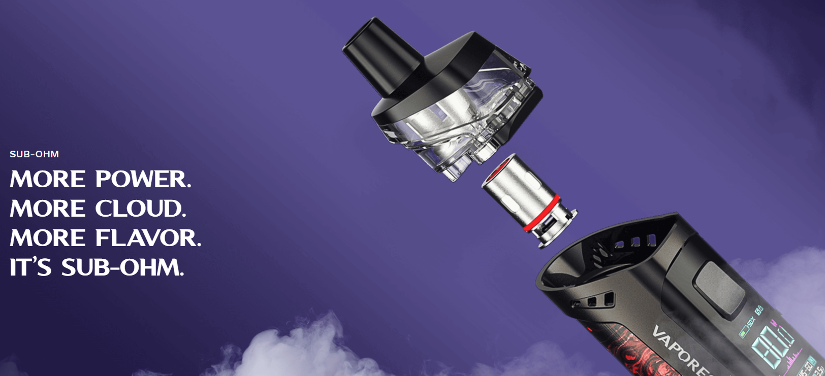 Target PM80 Sub ohm Pod Mod Kit