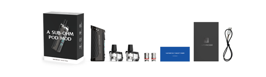Vaporesso Target PM80 Kit Package Contents