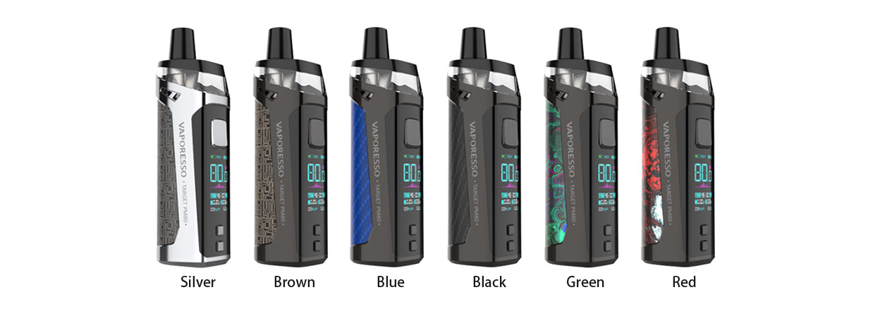 Vaporesso Target PM80 Kit All Colors