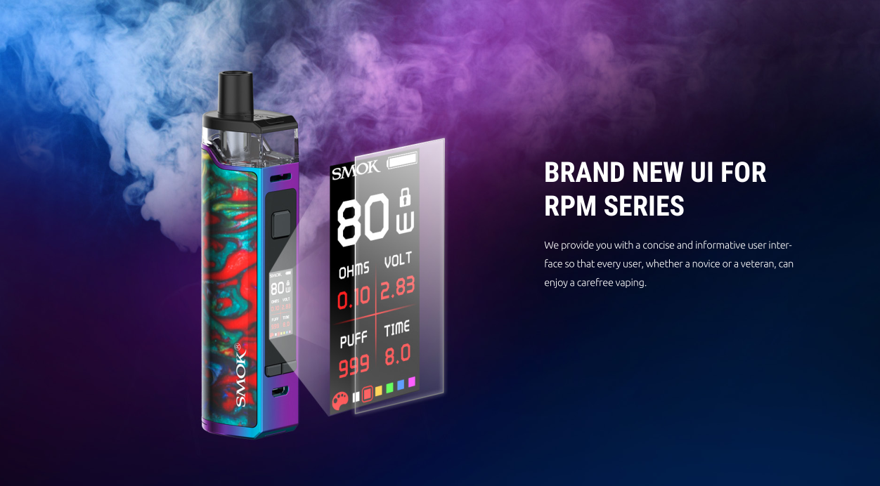 SMOK RPM80 Kit sale