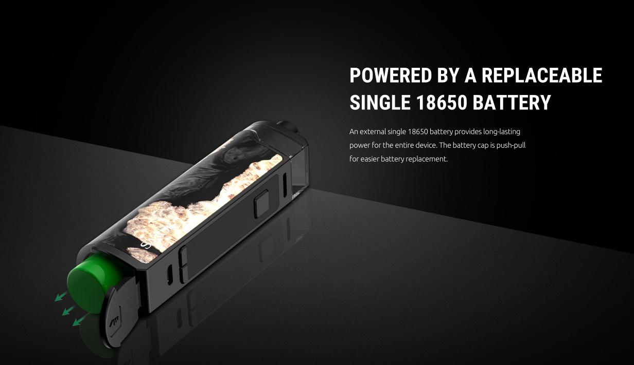 SMOK RPM80 PRO Kit with Single 18650 Battery