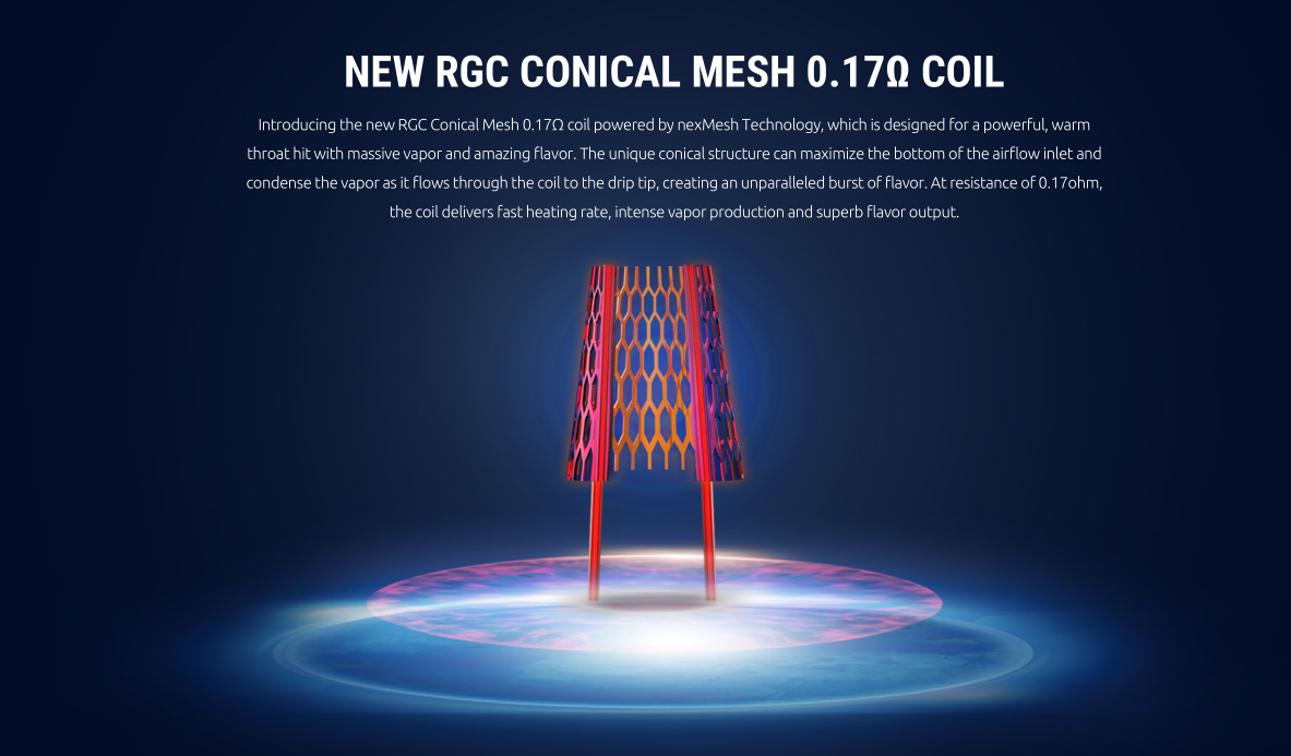 SMOK RPM80 New RGC Conical Mesh Coil